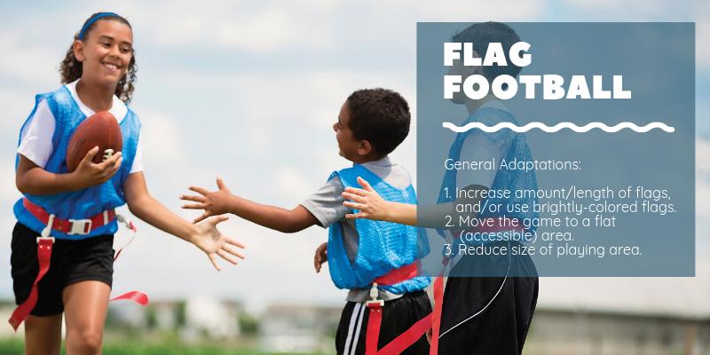General Adaptations for Flag Football