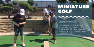 Miniature Golf Adaptations for Kids Who Need Different Accommodations | CoachArt