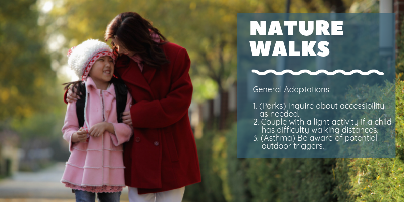 Nature Walk Adaptations for Kids Who Need Different Accommodations | CoachArt