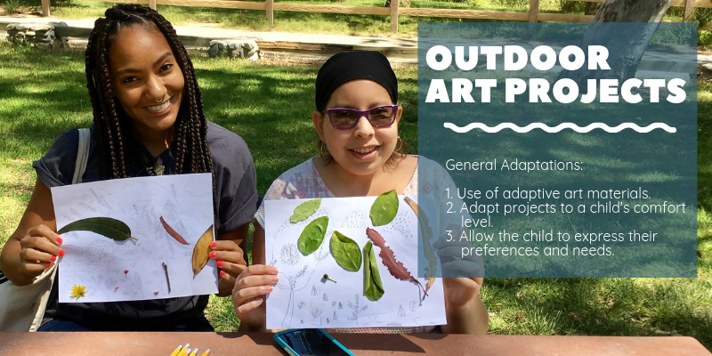 General Adaptations for Outdoor Art Projects (CoachArt)