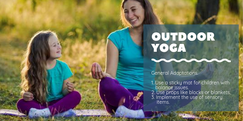 General Adaptations for Outdoor Yoga