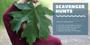 Scavenger Hunt Adaptations for Kids Who Need Different Accommodations | CoachArt