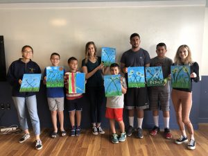 San Diego CoachArt Spring Paint Workshop
