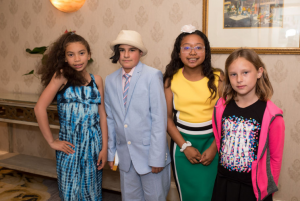 CoachArt Students Participating in the 2019 CoachArt Children's Benefit in San Francisco