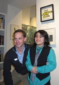 Chris Britt at the 2013 CoachArt Art Showcase
