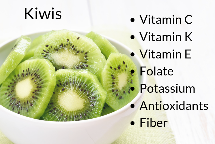 Jolly Green Smoothie Recipe For Kids: Nutritional Content of Kiwis | CoachArt