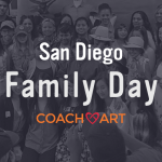 San Diego Family Day CoachArt