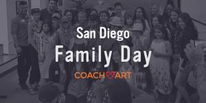 San Diego Family Day CoachArt