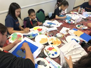 Art Club with CoachArt and Artreach at UCLA
