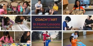 CoachArt In Home Lessons for Kids Impacted by Chronic Illness