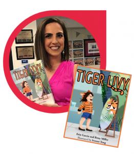 Erin Garcia Tiger Livy Book Signing | CoachArt