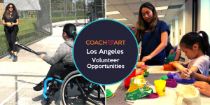 Los Angeles CoachArt Volunteer Opportunities: Art Club and Baseball Club