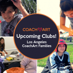 CoachArt Los Angeles Families! Sign Up for Art Club and Baseball Club