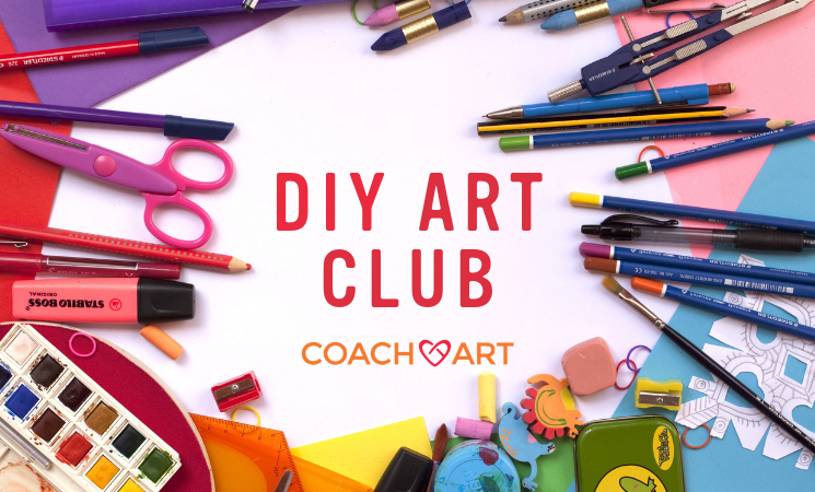 CoachArt DIY Art Club in Los Angeles