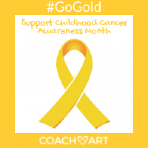 Go Gold to Support Childhood Cancer Awareness Month