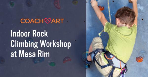 SD Indoor Rock Climbing Workshop at Mesa Rim