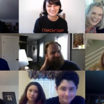 """CoachArt and Making Good Reunion on Zoom Answers """"What is Keeping You Motivated?"""""""
