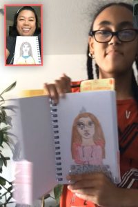 Art Video for Kids: Art at Home with CoachArt Virtual Volunteer, Pam Peute