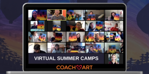 CoachArt Offers Free Virtual Summer Camps in 5 New Cities for Kids Impacted by Chronic Illness