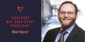CoachArt Bay Area Staff Spotlight: Meet Byron!