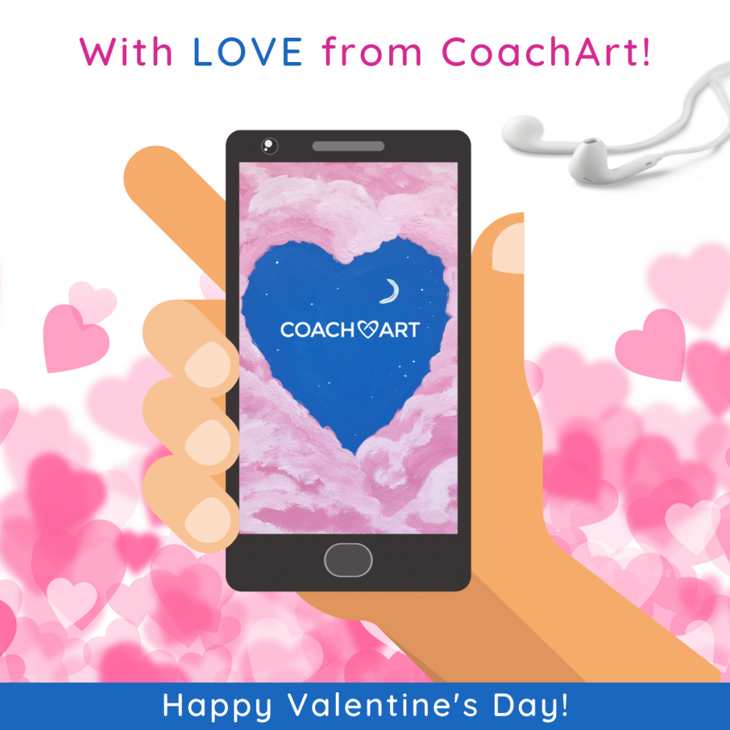 """Family-Friendly Valentine's Day List: """"With Love from CoachArt"""""""