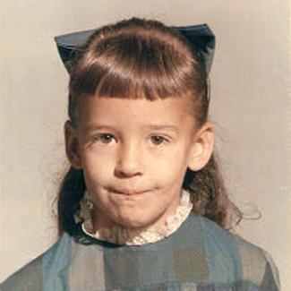 Patricia Suflita Wilson as a kid
